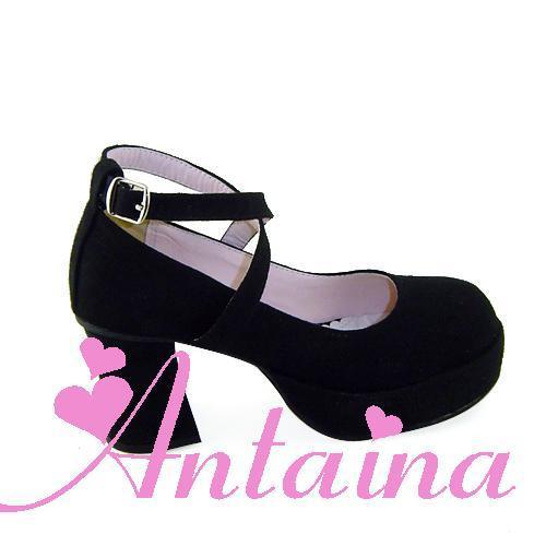 ФОТО Princess sweet lolita gothic lolita shoes custom  lolita cos punk high-heeled shoes 7703 chromophous  high platform