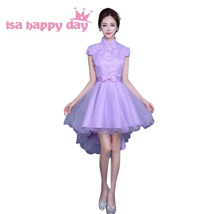Online Get Cheap Vestido De Novia Corto Luz Púrpura ...