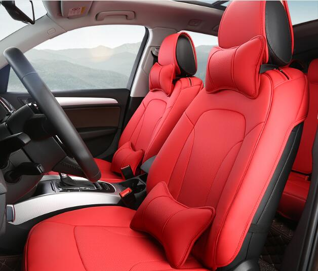 5 Colors Luxury font b Car b font Seat Covers Set font b Interior b font