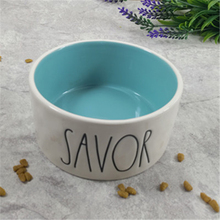 Cat Bowl Best Selling Pet Supplies Bowls Dog Feeder  Food Container Ceramic 50GP003