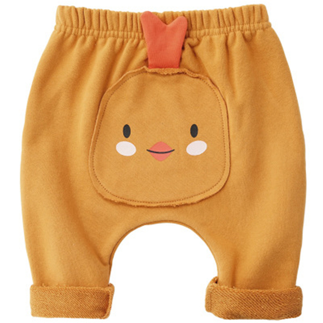 Cute Cartoon Kids Girl Baby Tight Pants Toddler Stretch Warm Leggings Trousers