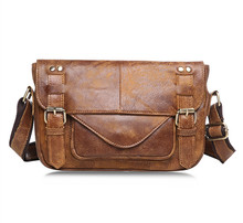 Maxdo Vintage Real Skin Genuine Leather Small Women / Men Messenger Bags #M8752