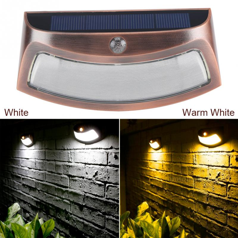 5 LED Solar Light Bulb Outdoor Waterproof Wall Light Solar Wall Lamp Light Pathway Driveway Lights Control Garden Lamp in Solar Lamps from Lights Lighting
