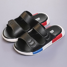 Classic Comfortable Leather Boy's Flip Flops