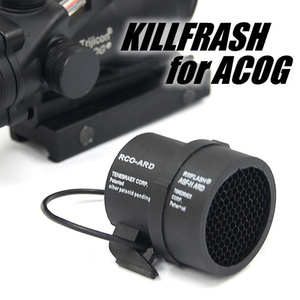 CQC Airsoft Tactical ACOG Killflash 4X32 ACOG Scope Protector Cover Cap Anti-Reflection Device(China)