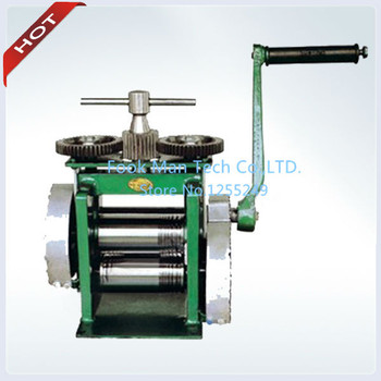 New Products Jewelry Rolling Mill Hand Rolling Mill Jewelry Machine and Equipment Roller Width 130 mm Roller Dia 50 mm