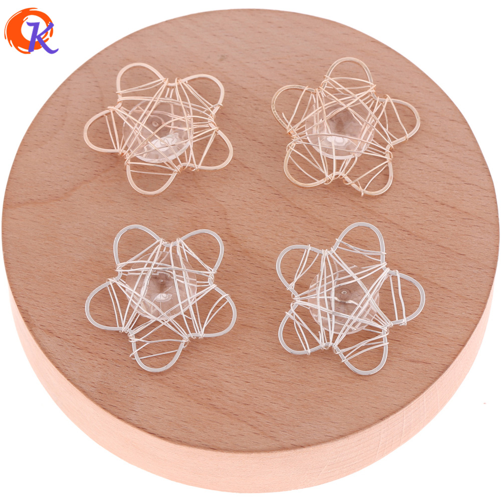 Cordial Design 50Pcs 29MM Earring Findings/Earring Base Parts/Wire Enlace Charm Beads/DIY Jewelry/Hand Made/Jewelry Accessories