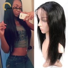 6A Unprocessed Brazilian Straight Full Lace Wigs Glueless Full Lace Wig Remy Hair Wigs Full lace Front Wig