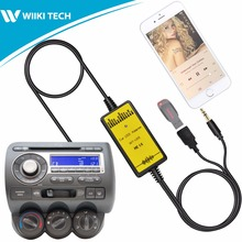 APPS2Car Car Radio USB AUX Interface Audio Mp3 Adapter CD Changer Adapter for Honda Fit 2006-2011 [Original Patented]