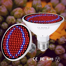 E27 Full Spectrum Led Phyto Lamps 6W 15W 20W Led Grow Light AC85-265V SMD2835 Red Blue UV IR Fitolampy Bulb For Grow Tent Plants стоимость