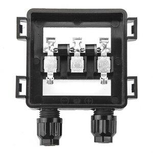 Image 1 - 1 pezzi IP65 Impermeabile Solar Junction Box di Collegamento per il Pannello Solare 50 W 100 W