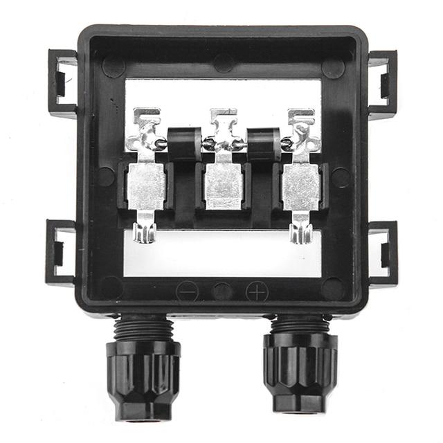 1 pièces étanche IP65 boîte de raccordement de jonction solaire pour panneau solaire 50 W 100 W