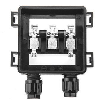 1 pieces Waterproof IP65 Solar Junction Connecting Box for Solar Panel 50W-100W