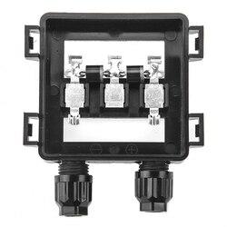 1 pieces ip65 impermeável caixa de conexão de junção solar para o painel solar 50 w-100 w