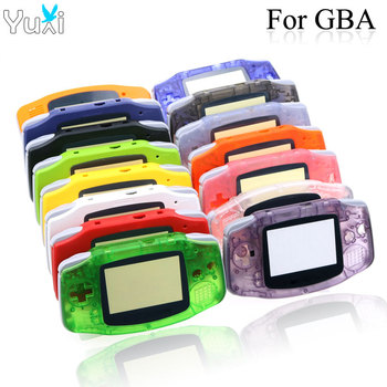 YuXi Plastic Shell Luminous Clear Case Cover Housing For Nintendo Gameboy Advance For GBA Console cltgxdd cartoon limited edition full housing shell for nintendo for gba sp game console cover case for gameboy advance sp