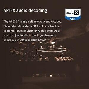 Image 3 - EDIFIER auriculares inalámbricos W855BT con Bluetooth, NFC, emparejamiento y aptX, compatibles con controles intrauditivos y llamadas