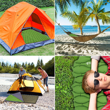 TOMSHOO Beach Camping Mat Ultralight Inflatable Sleeping Pad Mattress Sleeping Mat Outdoor Cushion Hiking Backpacking Travel