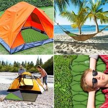 TOMSHOO Beach Camping Mat Ultralight Inflatable Sleeping Pad Mattress Sleeping Mat Outdoor Cushion Hiking Backpacking Travel