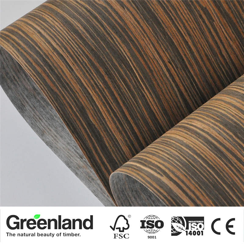 Ebony Veneer Flooring DIY Furniture Natural Material Bedroom Furniture Chair Table Skin Size 250x60 Cm Natural Vertical Veneer