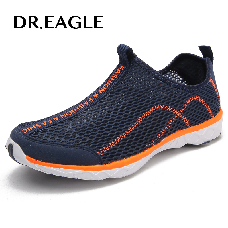 Dr.eagle Outdoor Sneakers men summer breathable Mens sport shoes fitness light gym water Aqua Shoes Mens beach shoes 39-46Dr.eagle Outdoor Sneakers men summer breathable Mens sport shoes fitness light gym water Aqua Shoes Mens beach shoes 39-46