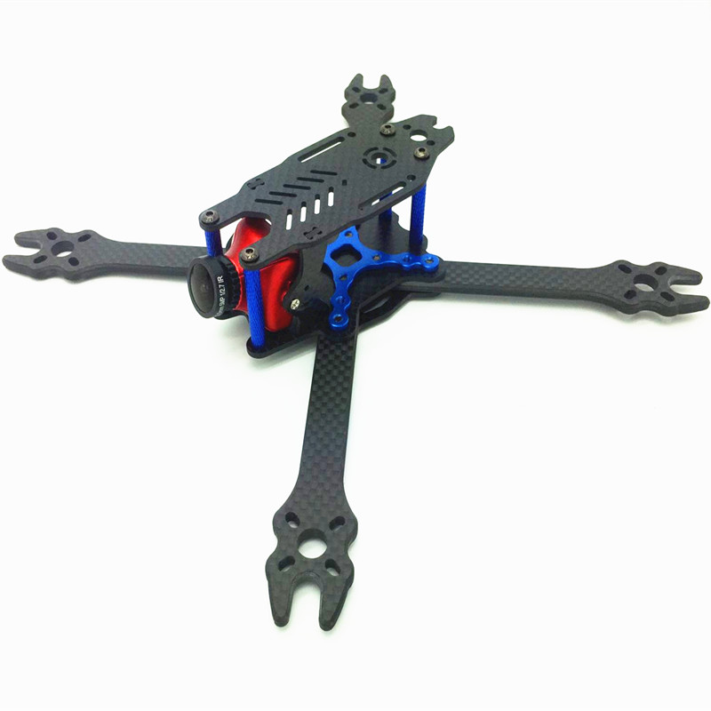 DIY mini FPV F2 mito 210 pure carbon fiber 210mm frame unassembled for DIY Racing drone quadcopter eyas 55 7mm 8mm pure carbon fiber brush coreless quadcopter frame for diy fpv micro indoor mini drone with camera
