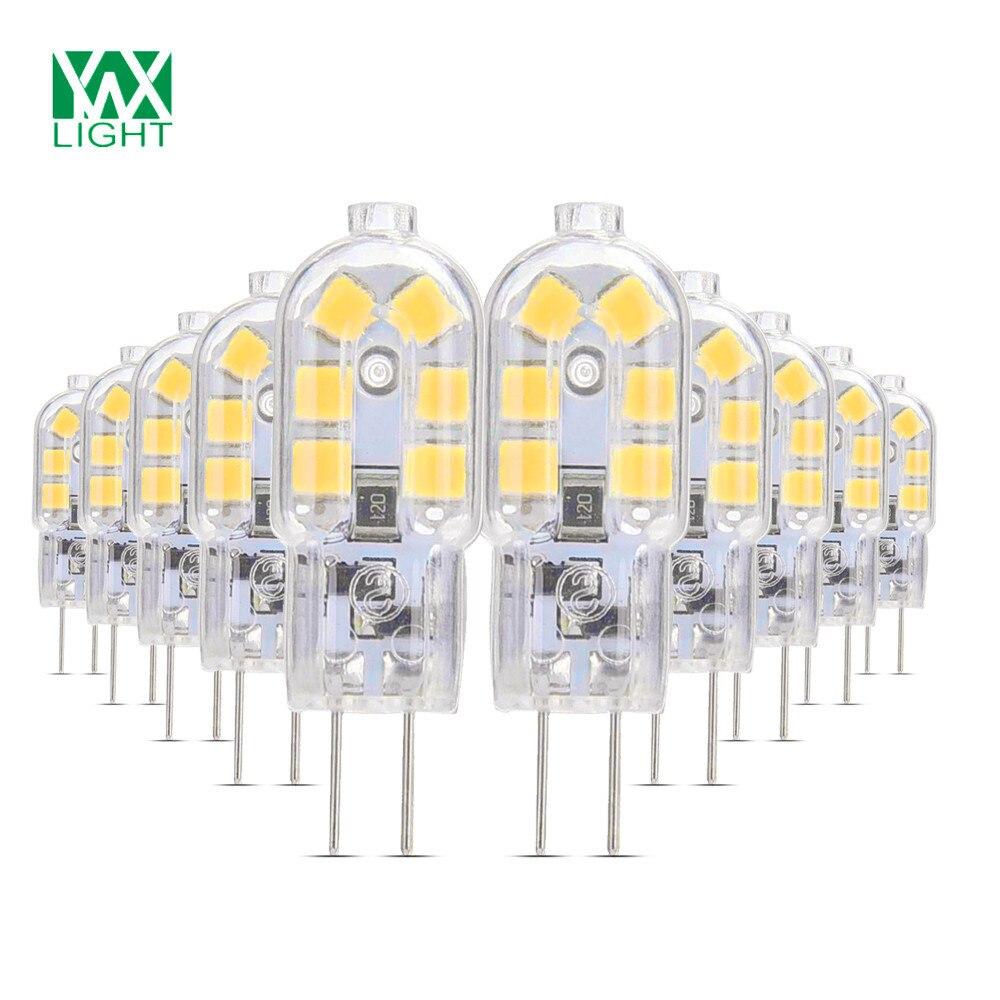 YWXLight 10/Packs G4 LED 12V LED Bulb Lamp Milight LED 3W Lampada LED Bombillas LED G4 Para El Hogar Ampoule LED g4 led bulb