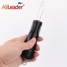 AliLeader Button Hook with Zipper Pull Rubber Handle w/Zipper Pull, One Handed Buttoning Aid Hook , Latex free Dressing