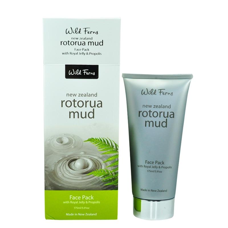 Parrs 100% natural Royal Jelly & Propolis Rotorua Mud effective mud face pack deep cleansing, antiseptic, minimise skin ageing скрабы и пилинги ahava deadsea mud natural dead sea mud объем 400 г