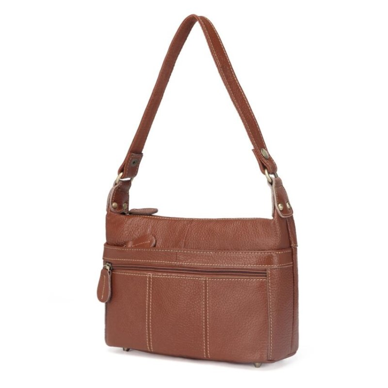2019 Genuine Leather Women Messenger Bags Female Small Shoulder Handbags Vintage Crossbody Bag For Ladies Bolsa Feminina MM2302