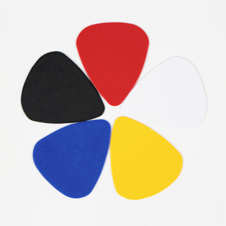 100 Smooth ABS Guitar Picks 0.46mm Mix Plain 100P