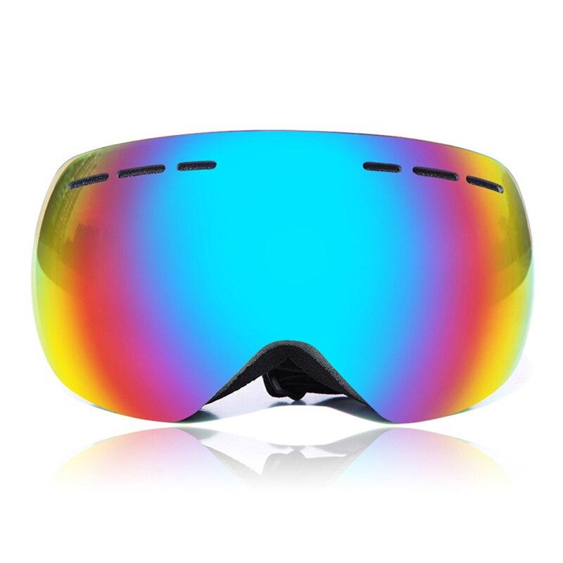 Prix pour Wolfbike marque extérieure coupe-vent lunettes lunettes de ski snowboard patinage lunettes anti-brouillard neige ski lunettes de soleil lunettes 4 couleur