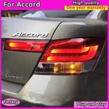 Stile auto per Honda Accord 8th Fari 2008-2013 fanale posteriore A LED Fanale Posteriore A LED DRL + Freno + Parco + Segnale di Girata + luce di Retromarcia