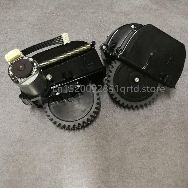 2 pz Originale Motore ruota Sinistra Destra per chuwi ilife V50 robot Parti per Vaccum cleaner ILIFE ruota di ricambio Del Motore