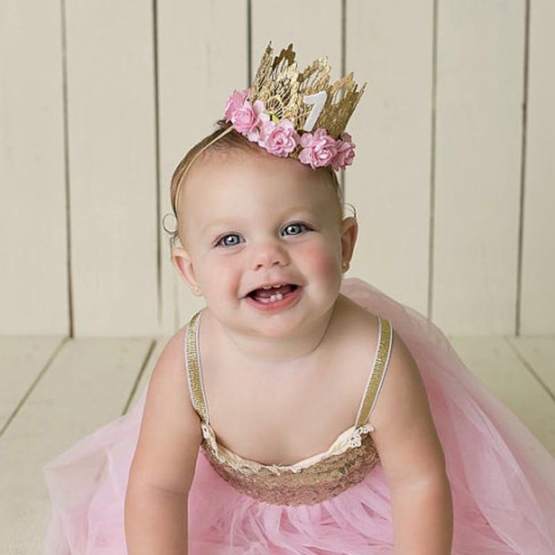 Kleidung, Schuhe & Accessoires 8 Pcs Toddlers Hair Accessories Handmade Diamond Flower Headbands for Baby Girls Accessoires