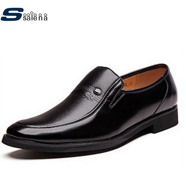 Men Shoes Dress Soft Footwear Classic Men Casual Shoes Genuine Leather Spring Autumn Breathable Shoes AA10166