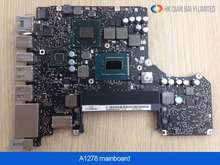 New Motherboard for Macbook Pro 13″ Laptop A1278 Logic Board i7 2.7GHz 4GB Motherboard I7 2620-M early 2011 MD101 MD102