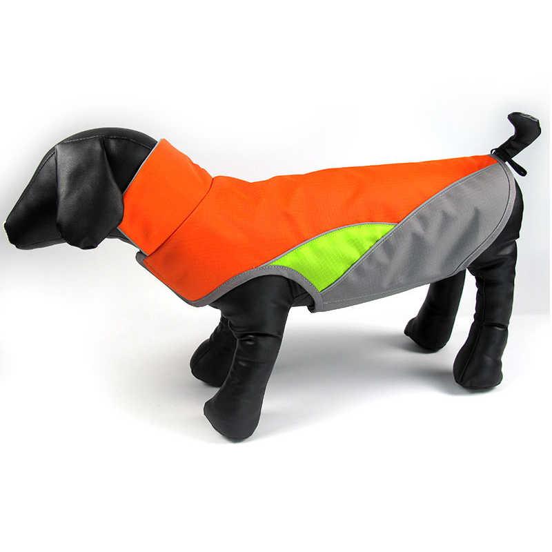 Ropa Para Perros Reflecterende Hond Kleding Waterdichte Hond Jas Jas Warm Teckel Jas Vest Voor Kleine Grote Honden Huisdier Kleding