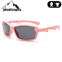 Jomolungma поляризованные солнцезащитные очки для детей с чехлом для мальчиков и девочек, детские очки для рыбалки, пешего туризма, спортивные очки для улицы UV400, защита D8204