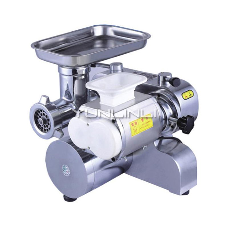 Commercial Mini Meat Grinder Electric Meat Slicer Grinding+Slicing Dual Use Meat Cutter BL12-80 beijamei 120kg h electric meat grinder meat cutter commercial meat slicer meat slicing machine for restaurant