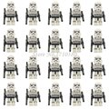 Star Wars Mini Blocks 20pcs/lot Clone Trooper Stormtrooper Darth Vader Yoda Lepin Starwar Solider Action Figures DIY Baby Toys