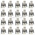Star wars mini bloques 20 unids/lote clone trooper stormtrooper lepin darth vader yoda solider starwar figuras de acción diy juguetes para bebés