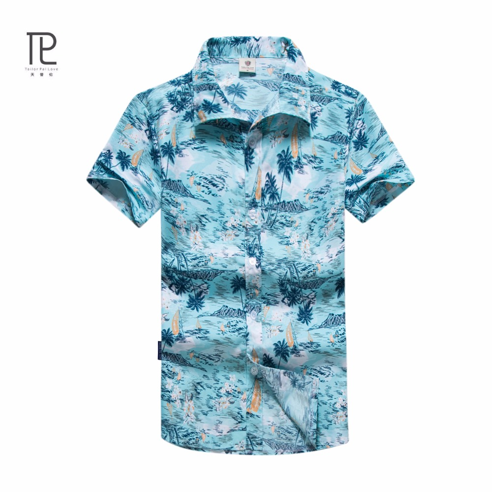 Tailor Pal Love Summer Meeste särgid Kiiresti kuiv vabaaja särk - Meeste riided - Foto 1