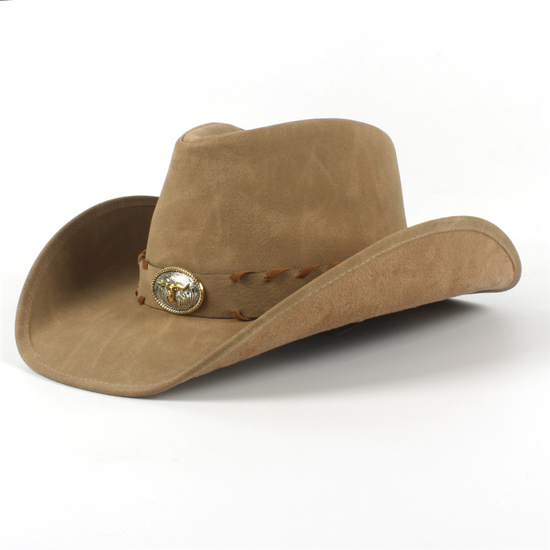 Western Leather Cowboy Hats for Women & Men 20
