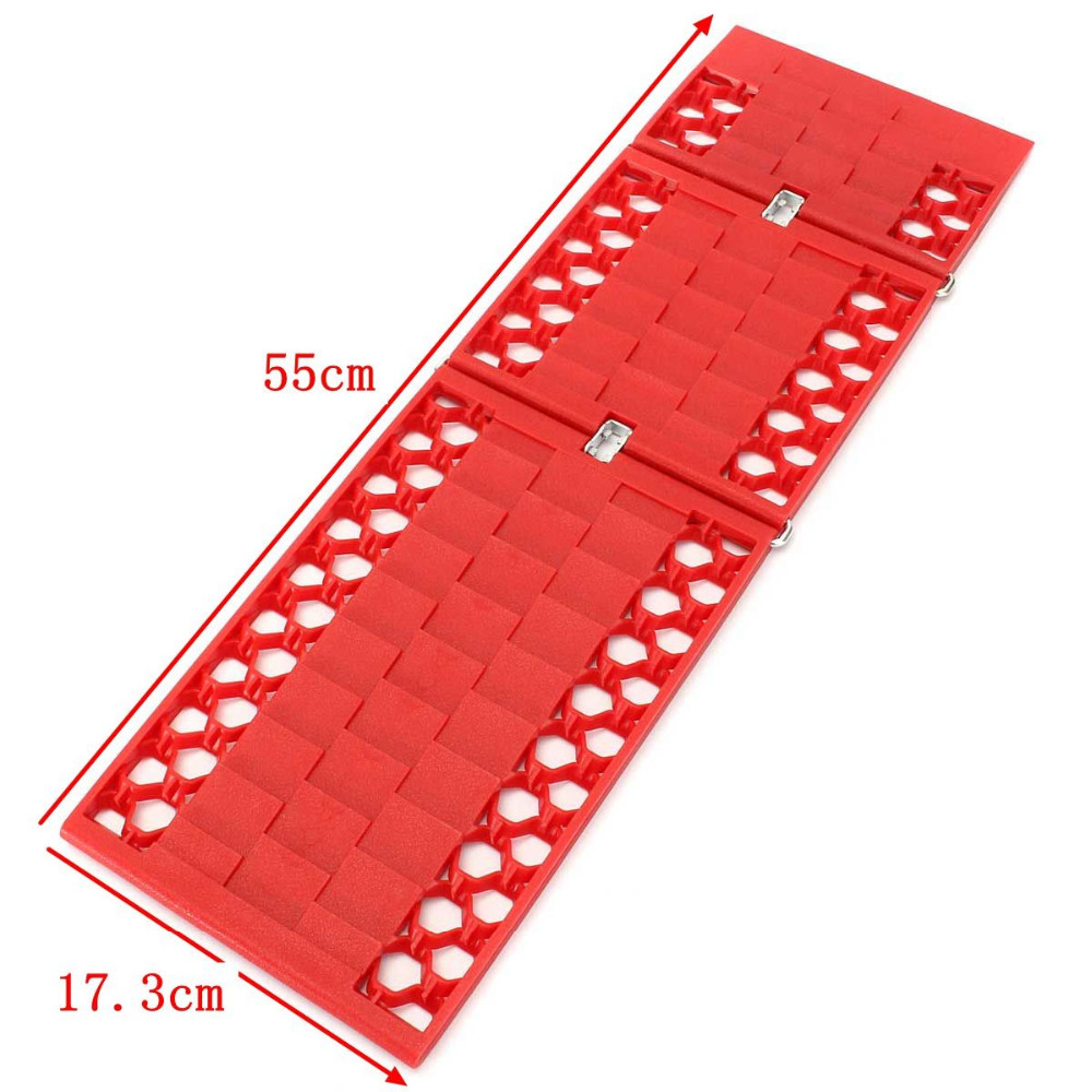 Купить с кэшбэком 2pcs/Set Tyre Grip Tracks Car security Snow Mud Sand rescue Escaper Traction Tracks Mats for Emergency relief solid firm durable
