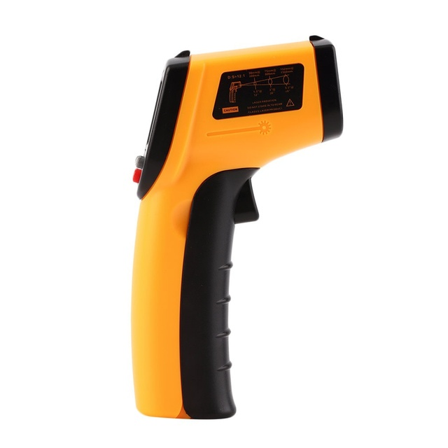 Nice Non-Contact LCD IR Laser Infrared Digital Temperature Thermometer Gun(Size: GM320 Non-Contact) 4