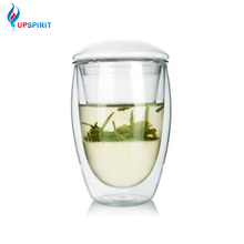 UPSPIRIT 350mL Double Wall Layer 3in1 Cup with Infuser and L