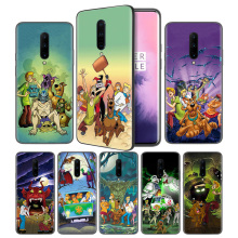 Scooby Doo Soft Black Silicone Case Cover for OnePlus 6 6T 7 Pro 5G Ultra-thin TPU Phone Back Protective