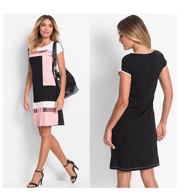 Women's Fashionable Mini Dress (3 Colors)