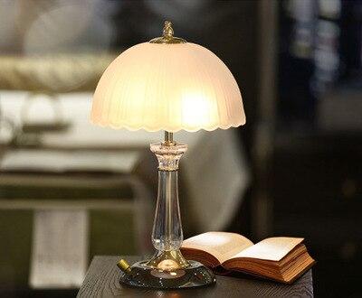 Туда 2018 современная Хрустальная настольная лампа для спальни ночники творческий Европейский стиль украшения исследование лампы E27