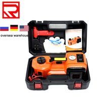 Auto  Electric Hydraulic  Lifting Jack Two Functions Car Jack With Air Inflating Pump